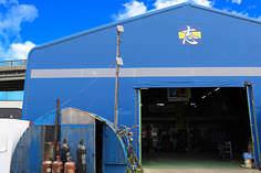 志向産業の倉庫
